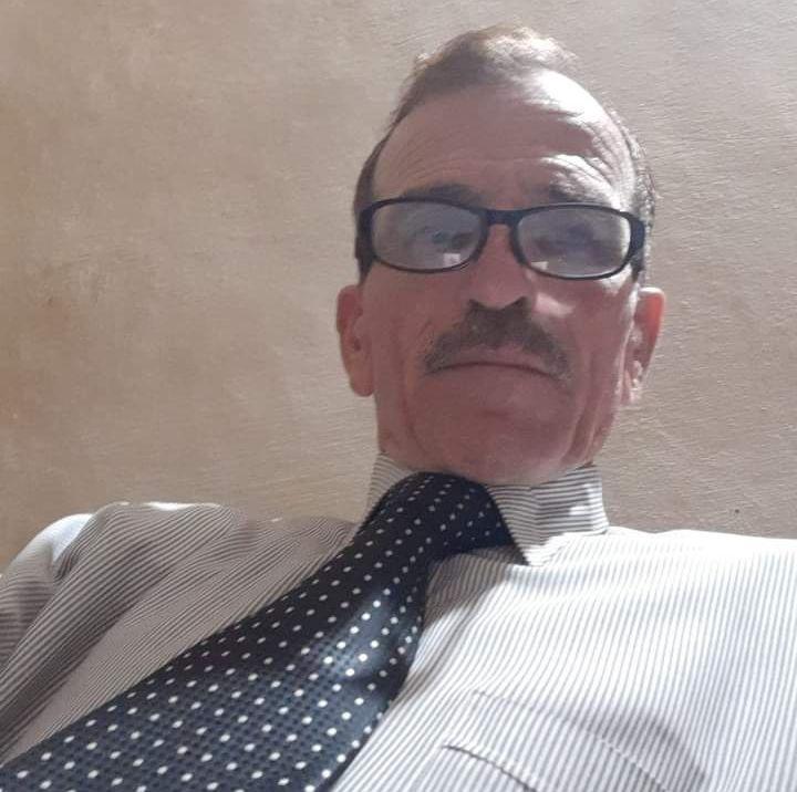 القاضي العسكري السابق السيد شريف حسين العارف الشياب ابو فواز